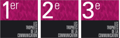 LC Design remporte trois Trophées de la Communication en 2014