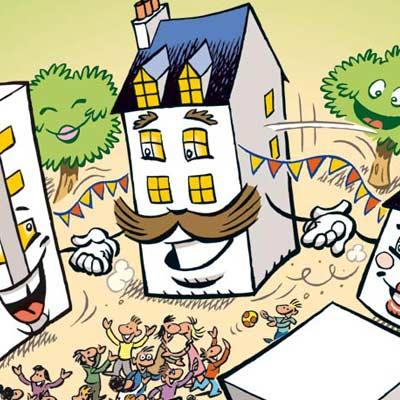 affiche et flyers pour la semaine du voisinage