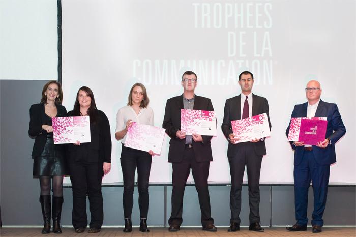 Trophée de la Communication 2014 : meilleur site internet d'entreprise