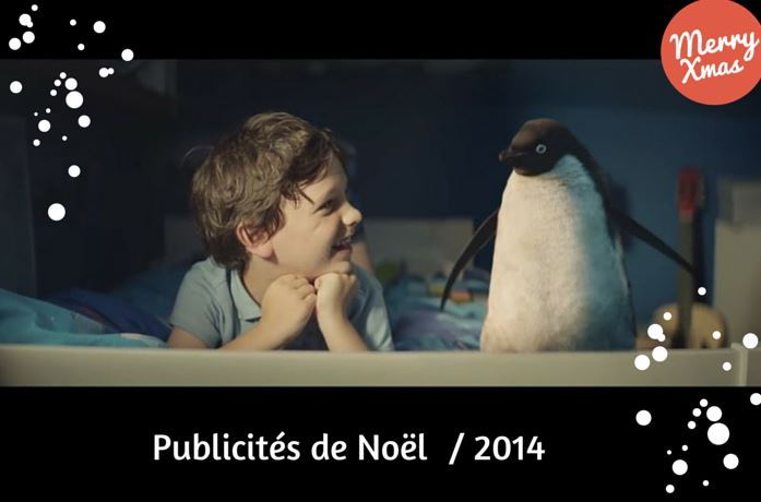 pubs de Noël 2014