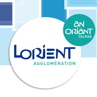Carte de voeux pour Lorient Agglomération