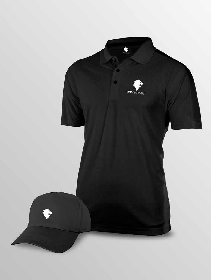polo-casquette-noir-jah-konet-lc-design