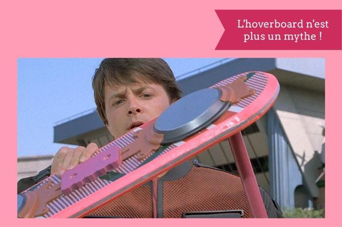 L'hoverboard de Marty, binetôt commercailisé ?