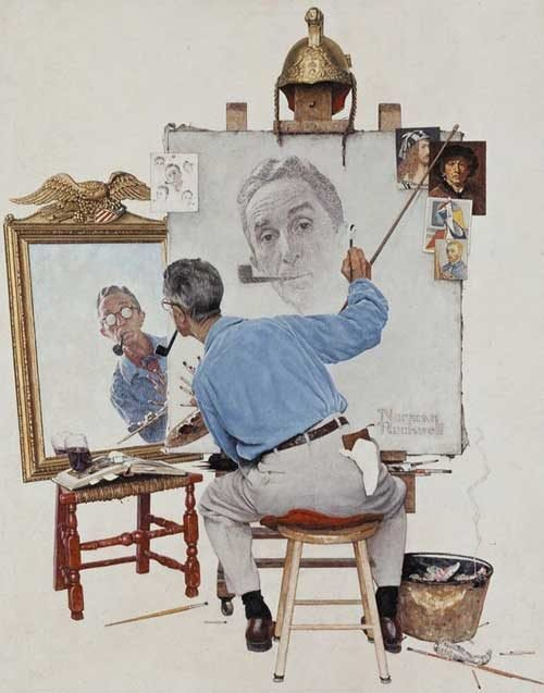 Norman Rockwell, illustrateur populaire