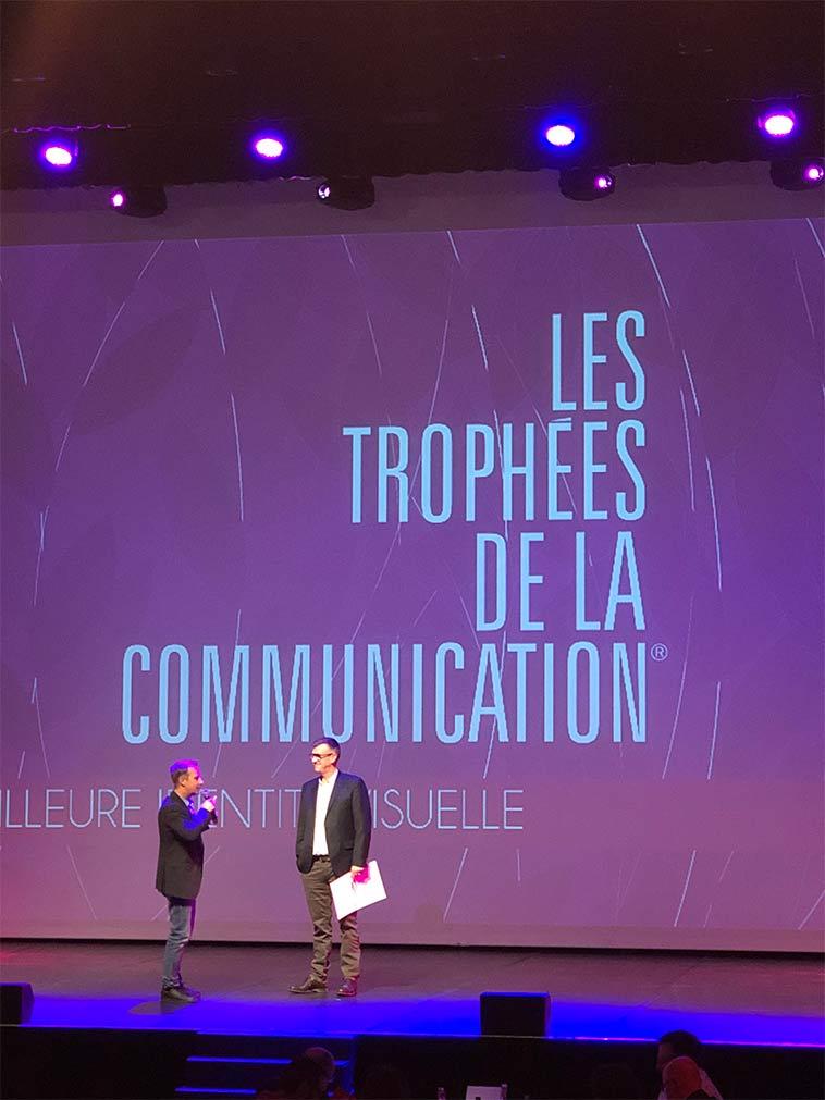 Trophées de la communication 2018 : LC Design (56),  fait gagner la région Bretagne, l'Europe et une PME Morbihannaise
