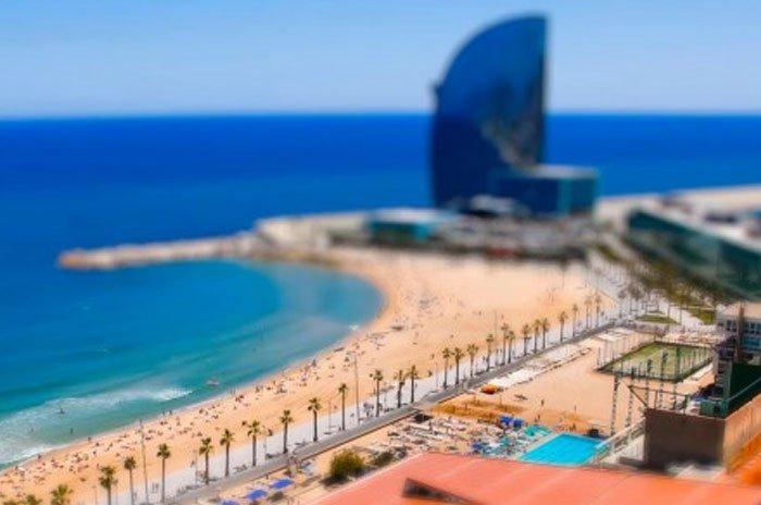 Barcelona en miniatura…