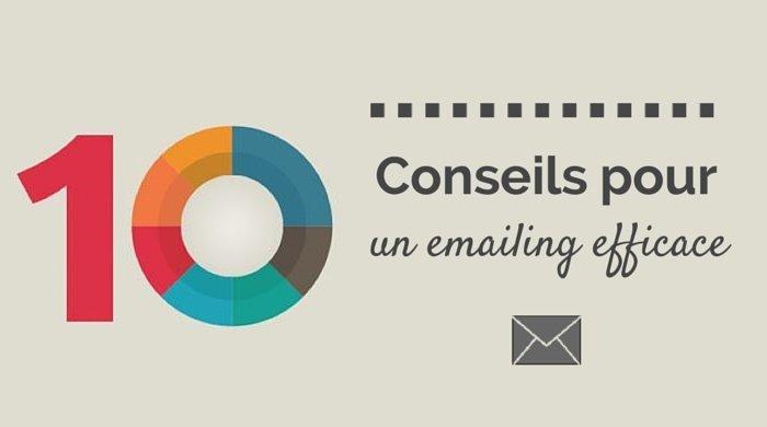 conseils pour un emailing efficace