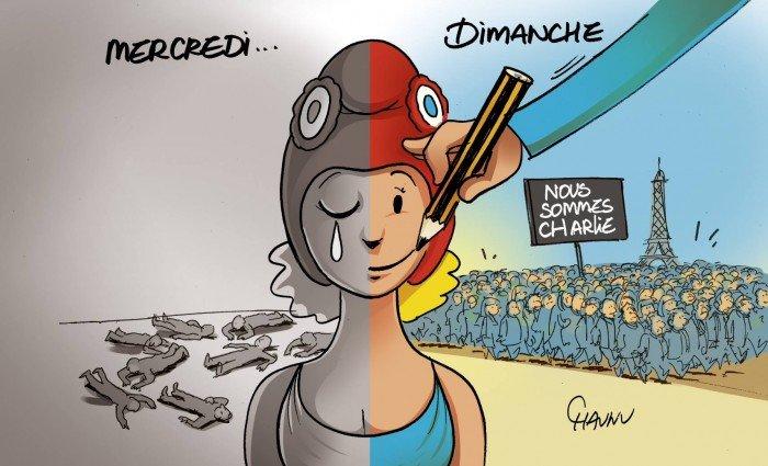 #JesuisCharlie : gardons les crayons levés