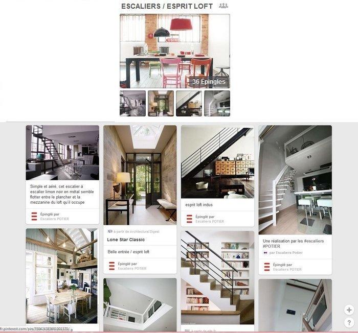 Pinterest escaliers Potier