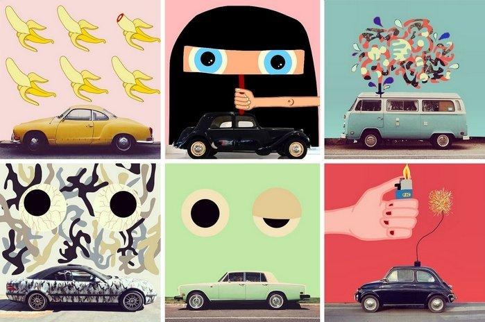 Finnycar, un projet artistique original et graphique