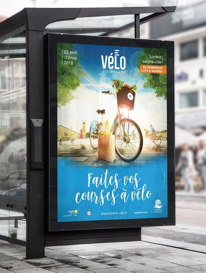 Faites vos courses à vélo à Lorient