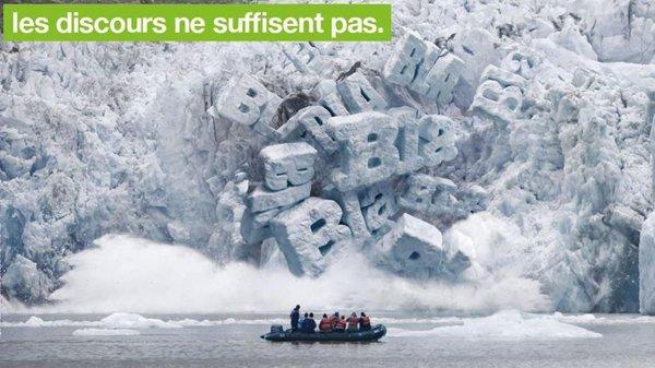 Greenpeace : l'urgence de déranger