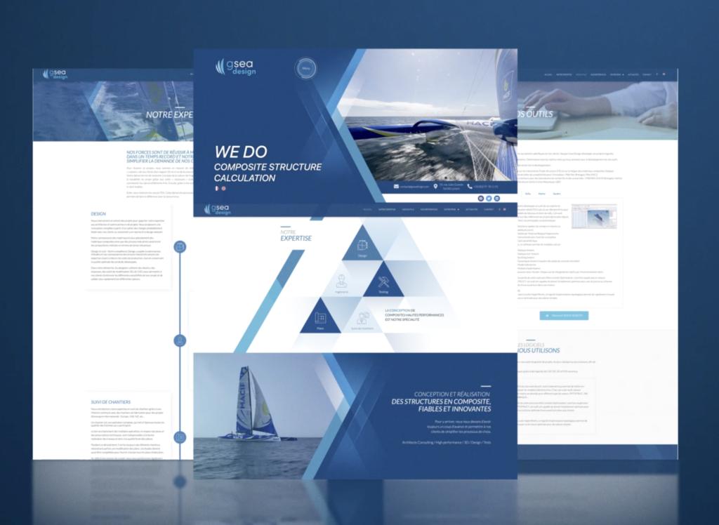 Nouveau site Web GSEA Design