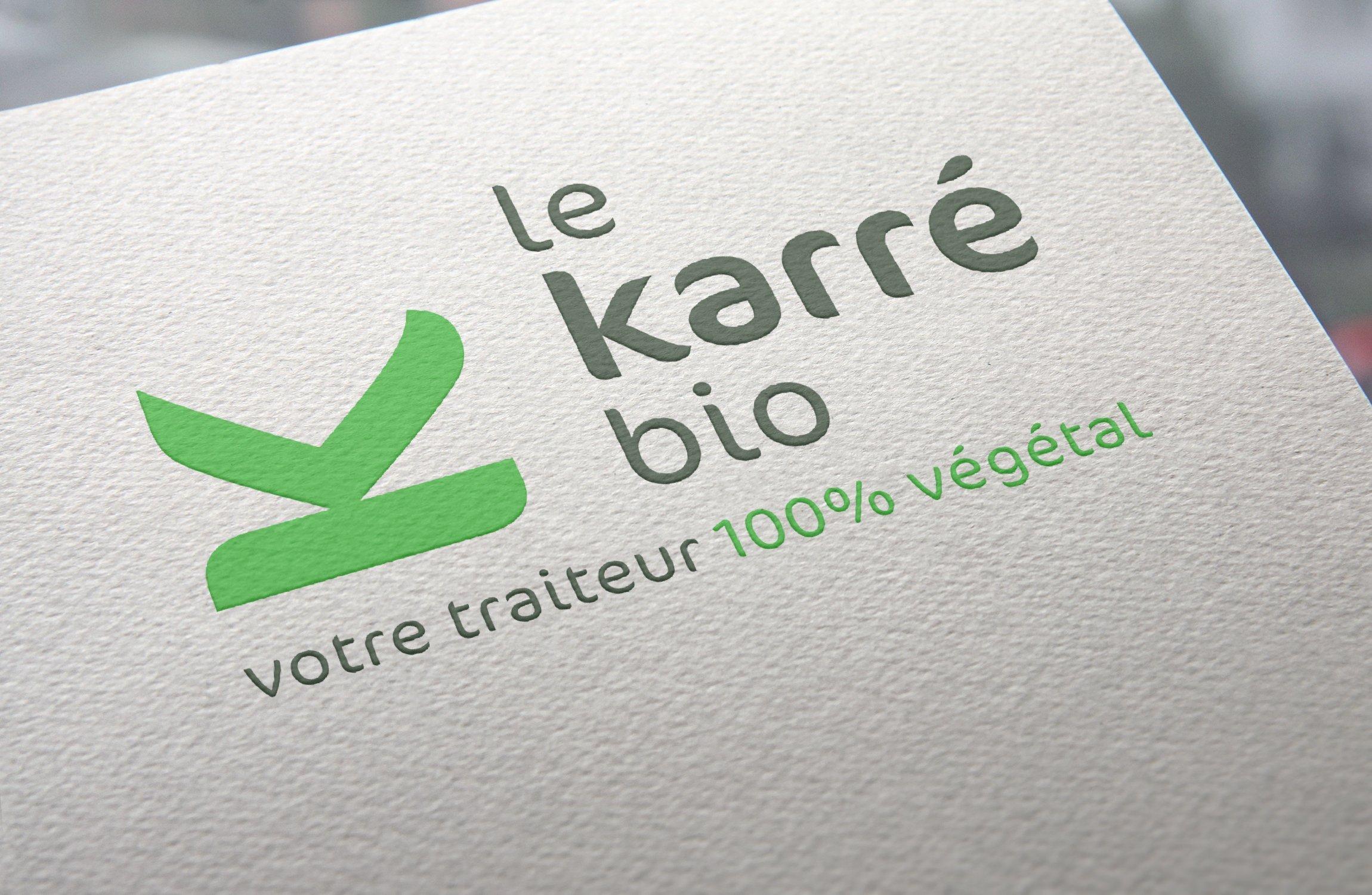 Création Logo Le Karré Bio